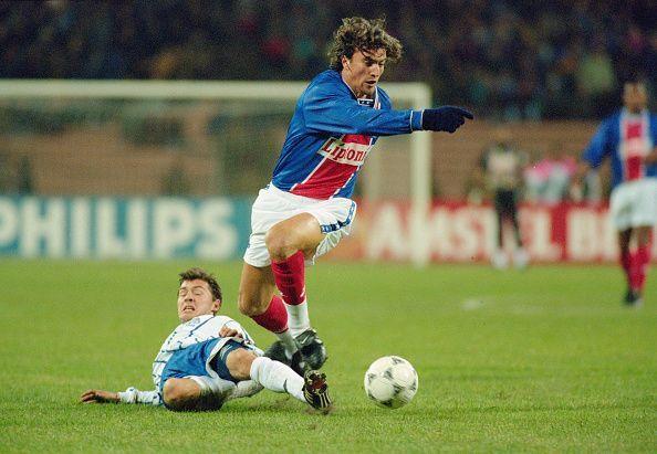 David Ginola in PSG colours