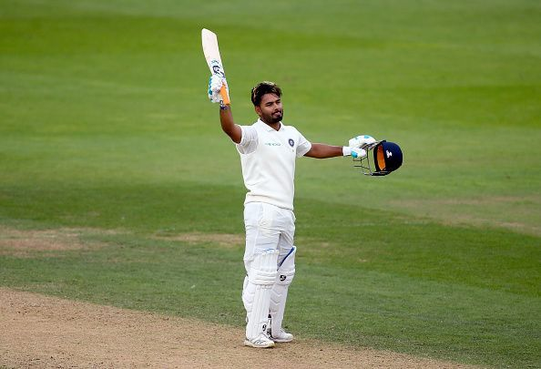 इंग्लैंड दौरे पर ओवल टेस्ट में ऋषभ पन्त ने लगाया टेस्ट करियर का पहला शतक