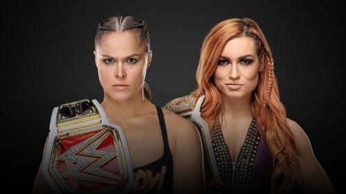 Ronda Rousey vs. Becky Lynch