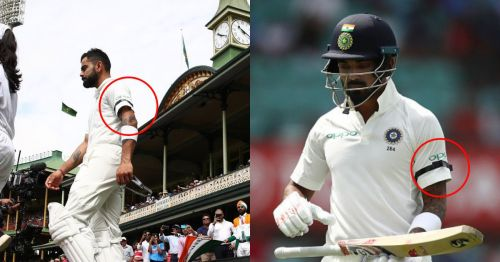 Players from both India and Australia are wearing black armbands today