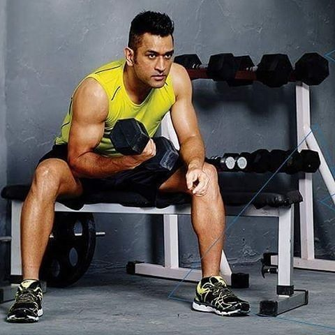 Image result for mahendra singh dhoni body