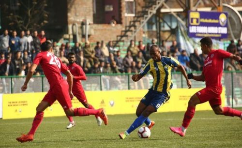 The previous encounter between Real Kashmir and Churchill Brothers ended 0-0
