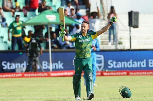 Faf du Plessis has played quite a few gritty knocks for the Proteas
