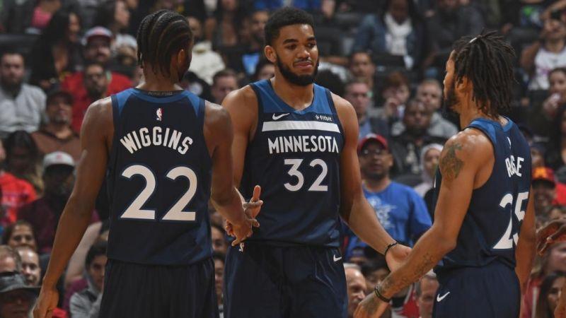 The Minnesota Timberwolves Trio