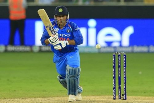 MS Dhoni brought up his 10,000th ODI run for India
