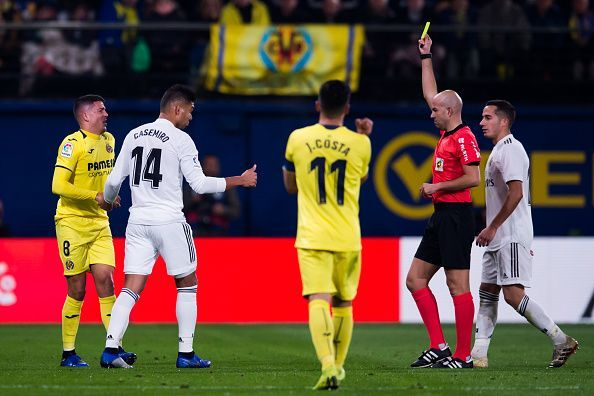 Real Madrid were held by relegation-threatened Villarreal