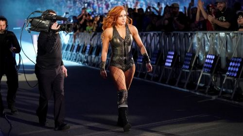 Becky steals the show