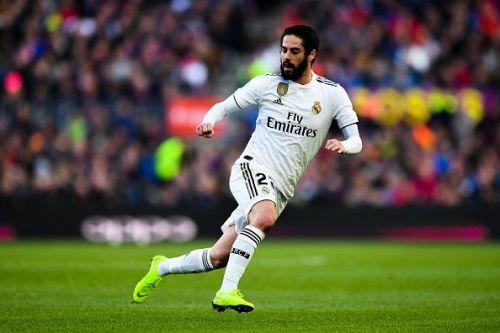 Isco is out-of-favour at the Bernabeu