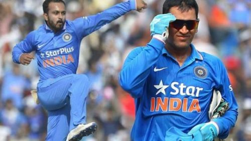 MS Dhoni and Kedar Jadhav would be responsible for finishing the innings