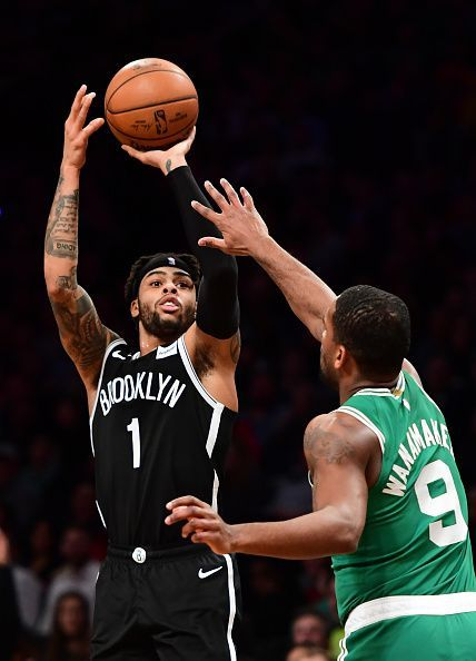 For the Nets, D'Angelo Russell sparked a fire with his 34 points and seven assists performance