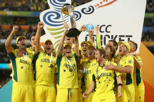 Australia won the World Cup for the fifth time in 2015