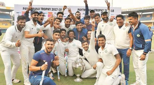 Defending champions Vidarbha have made it to the quarterfinals