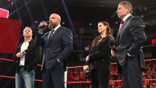 Mr. McMahon has promised the WWE universe from now on they will see new things in the company