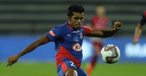 Rahul Bheke of Bengaluru FC was left out of the Asian Cup squad