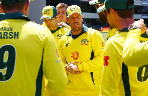 Aaron Finch will lead the Aside in the ODI matches