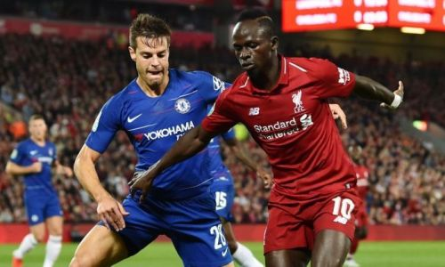 Always a tough battle between the Kop and Blues