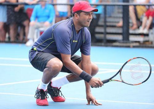 India's non-playing captain Mahesh Bhupathi
