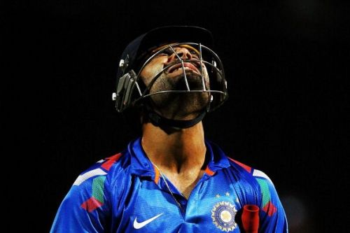 Virat Kohli waged a lone battle for India