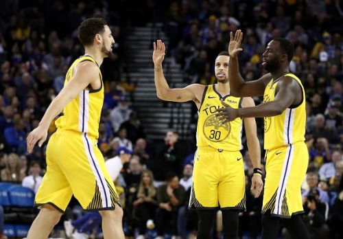 Klay Thompson was on fire for the Golden State Warriors
