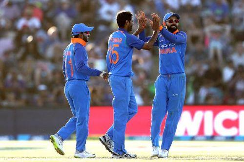 Bhuvneshwar Kumar feels Virat Kohli's absence weakened India's batting lineup at Seddon Park