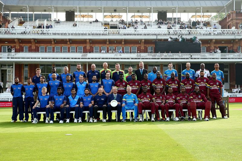 World XI and West Indies contesting for a fantastic cause