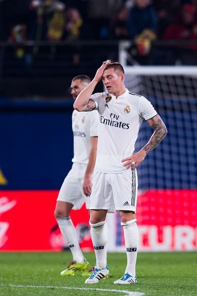 Real Madrid are struggling this season