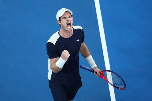 Murray threw absolutely everything at the Spaniard in an herculean effort