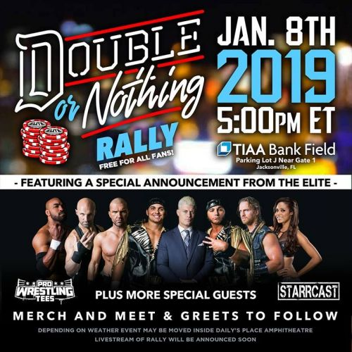 Will Omega make an appearance at the AEW rally?
