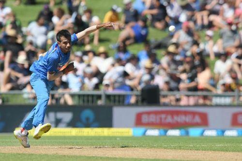 Yuzvendra Chahal: New Zealand v India - ODI Game 1