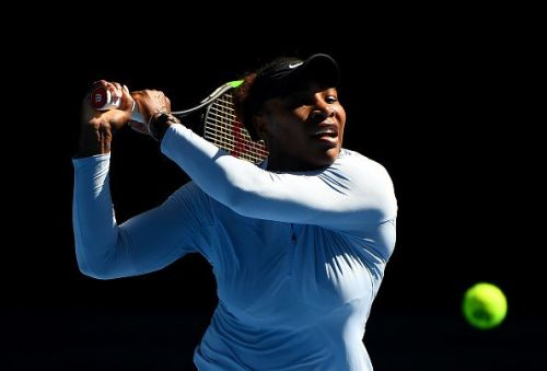 Serena Williams is gearing up for her first round match against Tatjana Maria