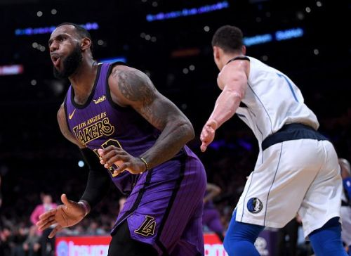 The Los Angeles Lakers are going to be without LeBron James