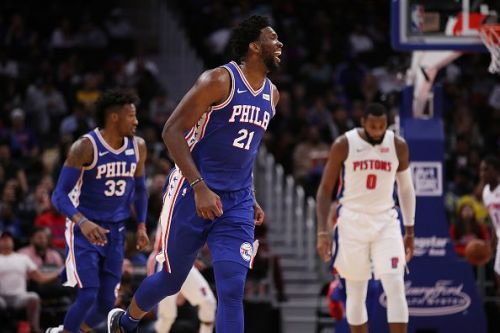 Philadelphia 76ers' Joel Embiid has started many feuds with his trash talking