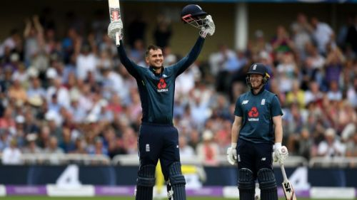 Alex Hales led the charge as England recorded the all-time highest total of 481
