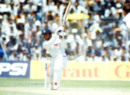 This was Mongia's only international century