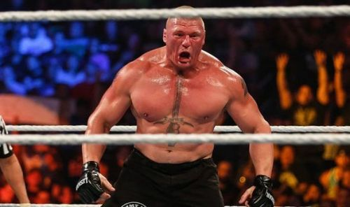 Brock Lesnar and Braun Strowman are advertised for the show