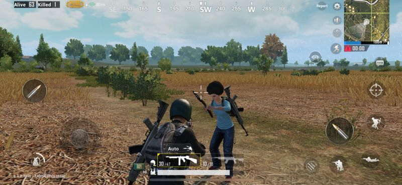 Bot in PUBG Mobile
