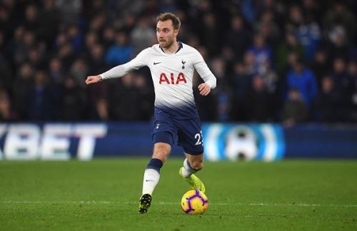 Tottenham Hotspur midfielder, Christian Eriksen, could be on the move this winter