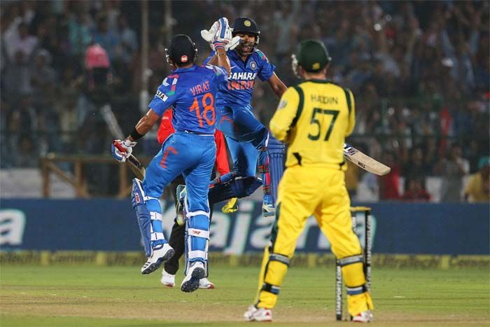 We can expect some fireworks whenever India face Australia