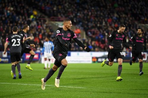 Poster boy of Marcos Silva's Everton,Richarlison