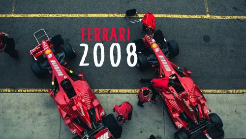 The cars driven by Massa and Raikkonen gave Ferrari their 2008 title