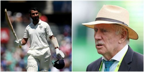 Pujara's remarkable performances have earned him high praise from Ian Chappell