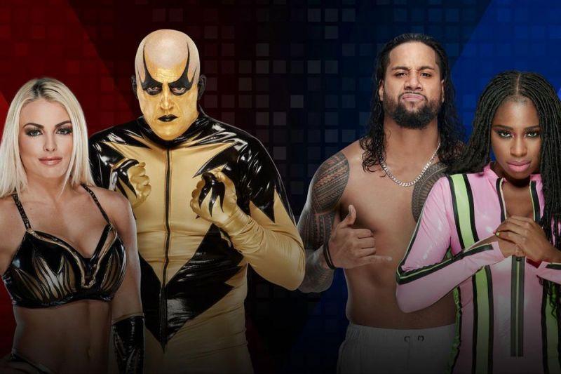 WWE Mixed Challenge Season -1, Round 1, Mandy Rose and Goldust vs Jimmy Uso and Naomi