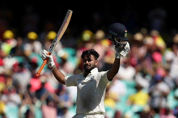 Rishab Pant is the first Indian wicket keeper to hit a six in England
