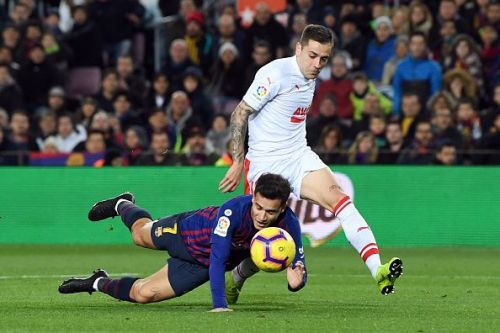 Coutinho has blown hot and cold at Barcelona so far