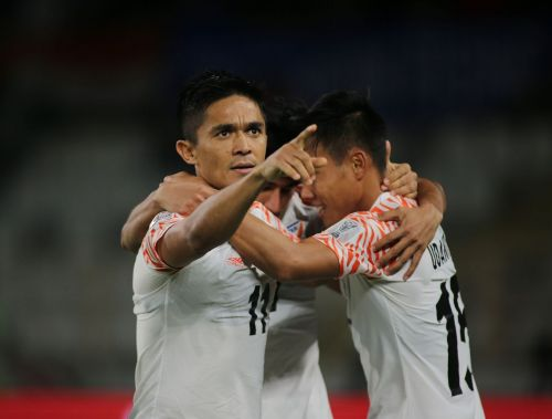 India might have been knocked out of the tournament but Sunil Chhetri can solace something by winning this award