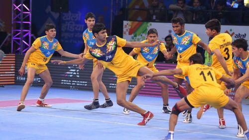 Delhi U-17 vs. Uttar Pradesh U-17 Kabaddi 2018 Final (Boys)