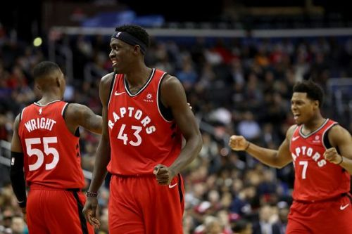 Toronto Raptors played out an epic game against the Washington Wizards