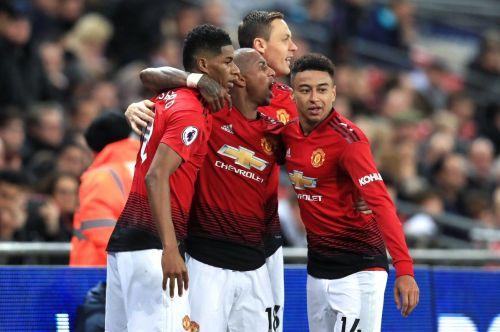 Marcus Rashford's goal saw Man United beat Tottenham 1-0