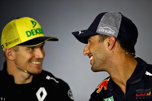 Hulkenberg and Ricciardo will be teammates at Renault this year