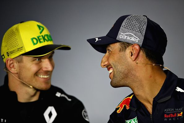 Hulkenberg and Ricciardo will be teammates at Renault this year